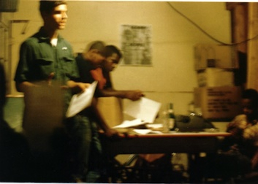 Working with local youth in the scope Project in Virginia in 1965.